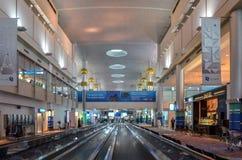 Aéroport de Dubai International, Dubaï, Emirats Arabes Unis Photos libres de droits