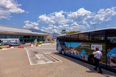 Aéroport de Dubrovnik Photographie stock libre de droits