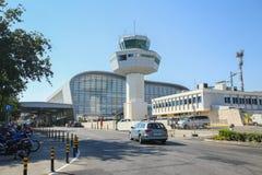 Aéroport de Dubrovnik Photo stock