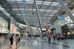 Aéroport de Dusseldorf Photos libres de droits
