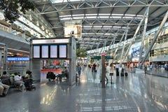 Aéroport de Dusseldorf Image stock