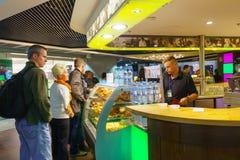 Aéroport de Dusseldorf Photo libre de droits