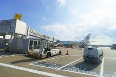 Aéroport de Dusseldorf Photographie stock libre de droits