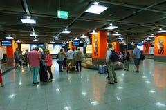 Aéroport de Dusseldorf Photo stock