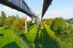 Aéroport de Dusseldorf Images libres de droits