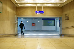 Aéroport de Francfort de passage souterrain Photo libre de droits
