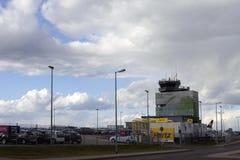 Aéroport de Francfort-Hahn dans le ¼ CK de Hunsrà Photographie stock libre de droits