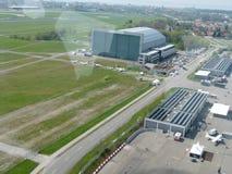 Aéroport de Friedrichshafen Photos libres de droits