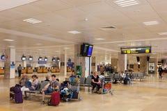 Aéroport de Gérone, Espagne Photos libres de droits
