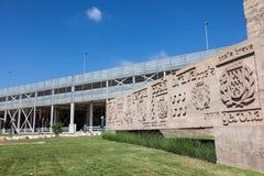 Aéroport de Gérone, Espagne Photo libre de droits