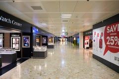Aéroport de Genève Image libre de droits