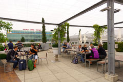 Aéroport de Genève Photographie stock