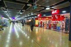 Aéroport de Genève Photos stock