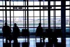 Aéroport de gens Image libre de droits