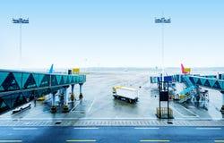 Aéroport de Guangzhou Photographie stock libre de droits