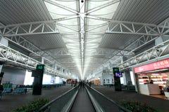 Aéroport de Guangzhou, Chine Image stock