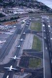 Aéroport de Guardia de La de New York, Etats-Unis Photographie stock