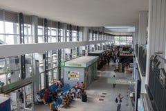 Aéroport de Hall à Vientiane, Laos Images libres de droits