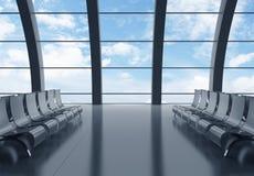 Aéroport de Hall Photos stock