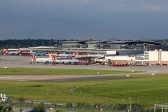 Aéroport de Hambourg Images libres de droits