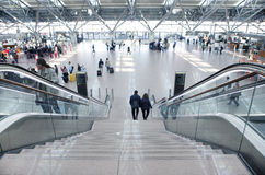 Aéroport de Hambourg du terminal 1 Image stock