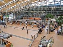 Aéroport de Hambourg, foyer Photos libres de droits