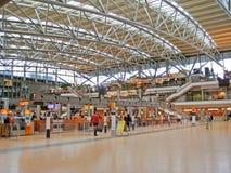 Aéroport de Hambourg, foyer Image stock