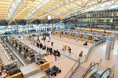 Aéroport de Hambourg, terminal 2 Photo stock