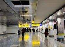 Aéroport de Haneda à Tokyo, Japon Photographie stock libre de droits