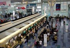 Aéroport de Haneda à Tokyo, Japon Images stock