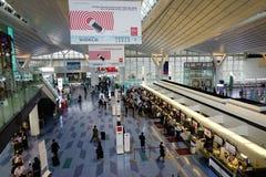 Aéroport de Haneda à Tokyo, Japon Photos libres de droits