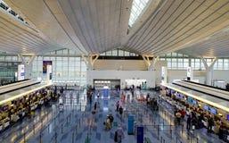 Aéroport de Haneda à Tokyo, Japon Image libre de droits
