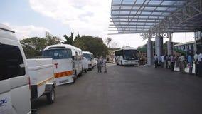 Aéroport de Harry Mwaanga Nkumbula International (aéroport de Livingstone) en Zambie banque de vidéos