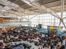 Aéroport de Heathrow à Londres, terminal 5 Photo stock