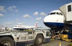 Aéroport de Heathrow. Photographie stock libre de droits