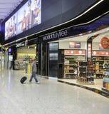 Aéroport de Heathrow - terminal 2 Image stock