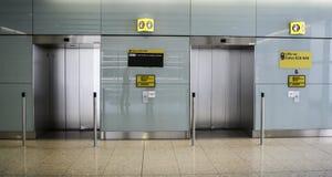 Aéroport de Heathrow - terminal 2 Photo stock