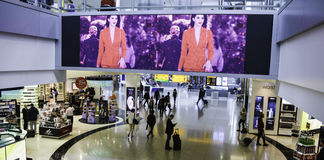 Aéroport de Heathrow - terminal 5 Photographie stock
