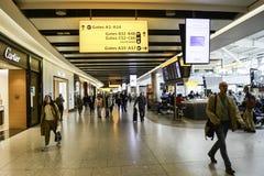 Aéroport de Heathrow - terminal 5 Photo stock