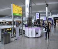 Aéroport de Heathrow - terminal 5 Photos stock