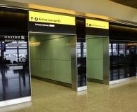 Aéroport de Heathrow - terminal 2 Photographie stock