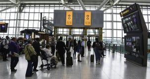 Aéroport de Heathrow - terminal 5 Images libres de droits
