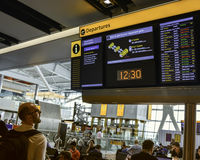 Aéroport de Heathrow - terminal 5 Image stock