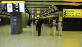 Aéroport de Heathrow - terminal 5 Images stock