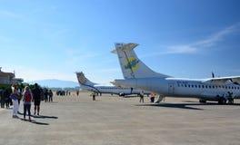 Aéroport de Heho Banlieue noire de Kalaw Secteur de Taunggyi L'État Shan myanmar Photographie stock libre de droits