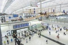 Aéroport de Hong Kong Photos stock