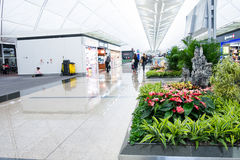 Aéroport de Hong Kong Photo libre de droits