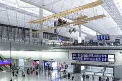 Aéroport de Hong Kong Photographie stock libre de droits