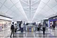 Aéroport de Hong Kong en Hong Kong. Images libres de droits