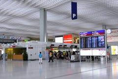 Aéroport de Hong Kong Int'l Photos libres de droits